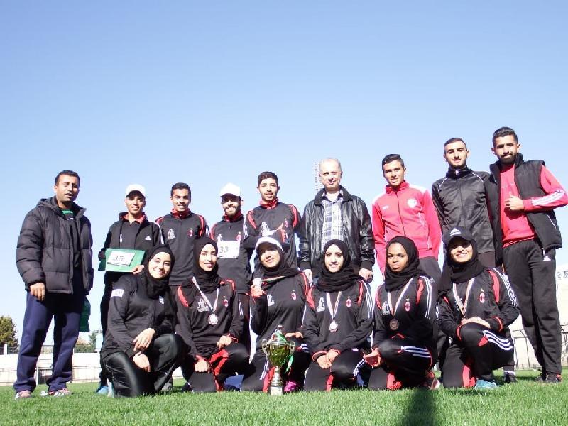 منتخب آل البيت يفوز بالميدالية البرونزية في سباق الضاحية على مستوى الجامعات الاردنية